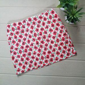 J. Crew Spring Floral Skirt